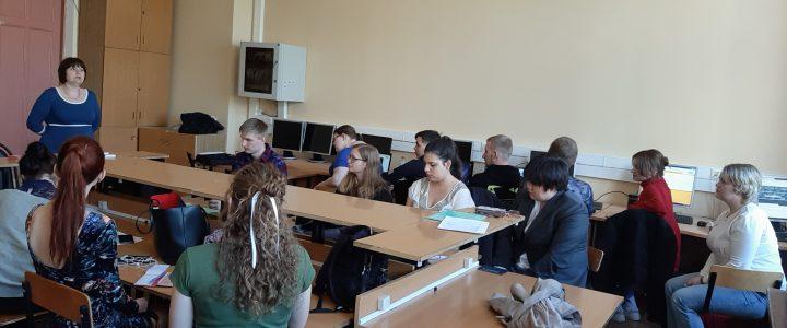 Встреча студентов выпускных курсов с представителями образовательных организаций Москвы и Московской области
