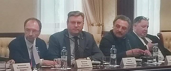Участие ректора МПГУ А.В. Лубкова в заседании Совета Научно-образовательной теологической ассоциации