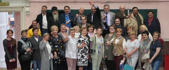 35 лет спустя! В главном корпусе встретились выпускники исторического факультета МГПИ им. Ленина