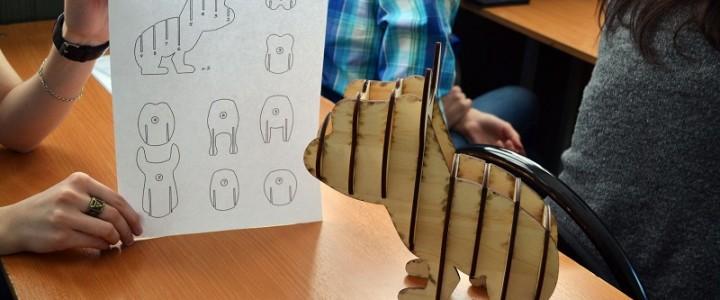 Университетские субботы.  Применение цифровых технологий в создании арт-объекта