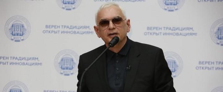 О кино и не только: в МПГУ прошла встреча с Кареном Шахназаровым