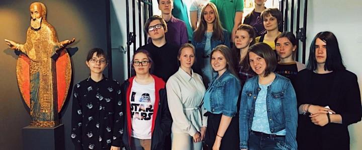 Экскурсия в музей древнерусской культуры им.Андрея Рублёва
