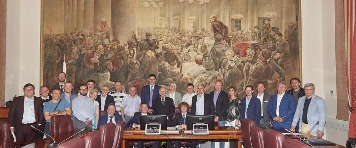 Заведующий кафедрой физического воспитания и спорта Дубов Артём Михайлович принял участие в заседании Комиссии по спортивному праву.