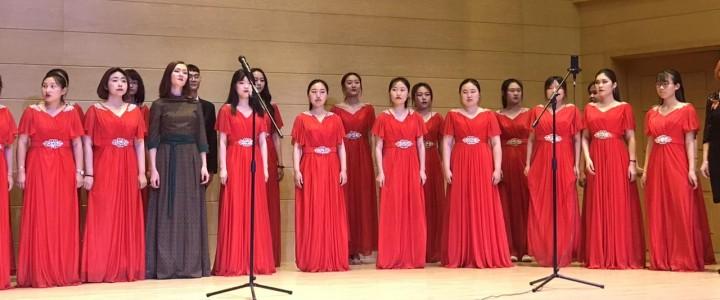 Концерт ко Дню Победы в Вэйнаньском педагогическом университете