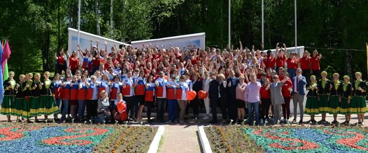 Торжественная линейка вожатых «Старт лета» собрала вожатых Москвы и Подмосковья