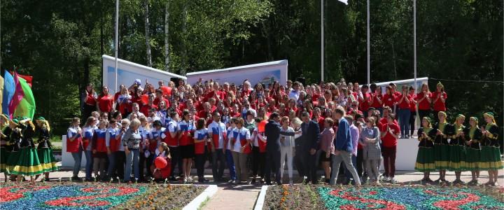 Выездной интенсив в лагере имени 28 героев Панфиловцев