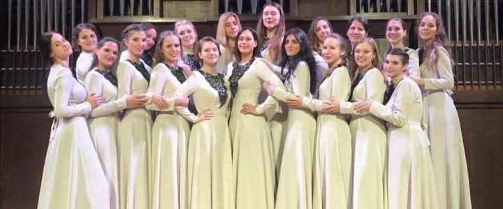 Женский хор факультета музыкального искусства выступил на Международном фестивале «Дню победы посвящается…!»