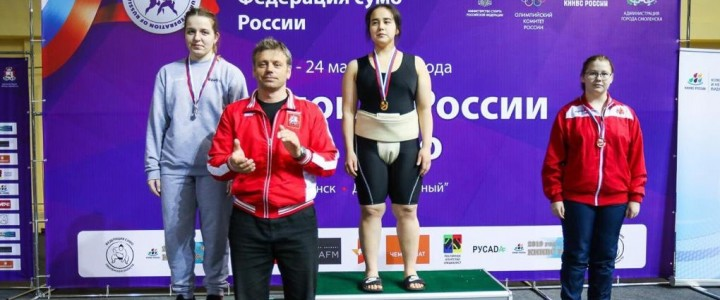 Студентка Дефектологического факультета  Пак Валерия – победитель первенства России по борьбе Сумо