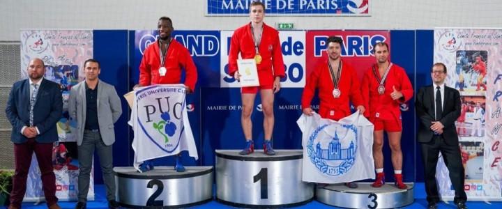 Поздравляем студента МПГУ с победой на Международном турнире по самбо