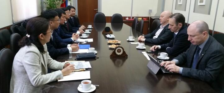 МПГУ посетила делегация Северо-Восточного педагогического университета