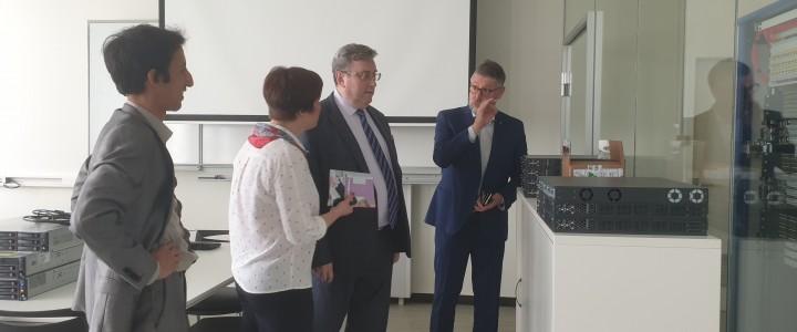Ректор МПГУ посетил Университетский колледж Гента (HOGENT, Бельгия)