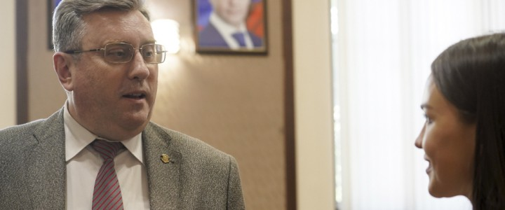 Ректор МПГУ дал интервью телеканалу «СПАС»