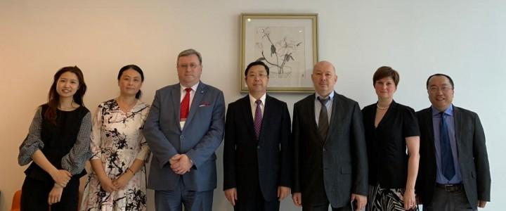 Делегация МПГУ встретилась с представителями Пекинского университета языка и культуры