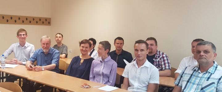 Визит преподавателей Института филологии в Педагогический университет Кракова