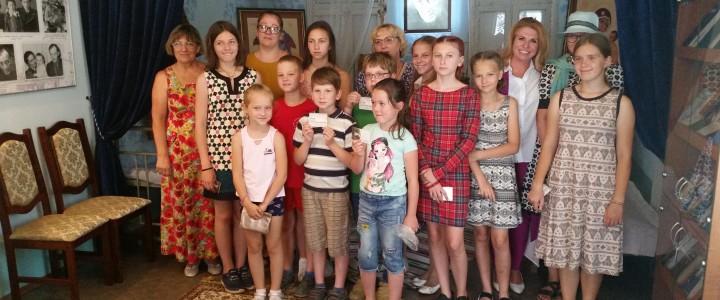 Музей Сергея Иосифовича Фуделя при Покровском филиале МПГУ посетили учащиеся и преподаватели Владимирской православной гимназии