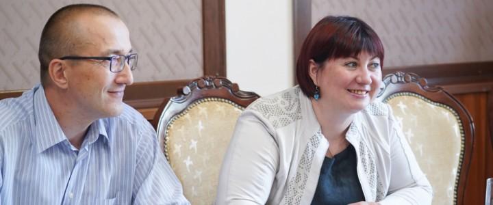 Ректор МПГУ встретился с руководством образовательных проектов МИА «Россия сегодня»