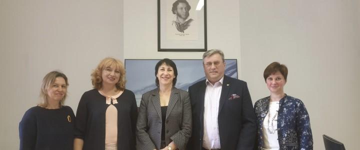 Ректор МПГУ провел серию встреч в Брюсселе