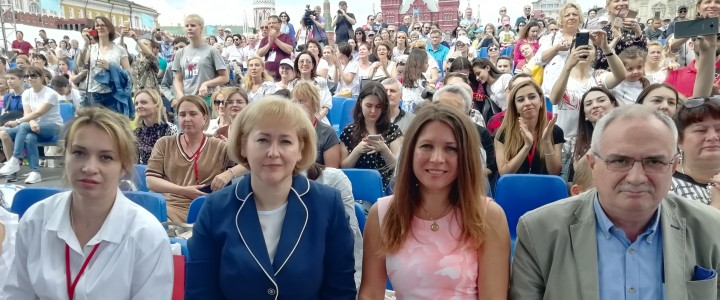 Красная площадь: МПГУ на Международном конкурсе чтецов «Живая классика»