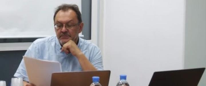 Директор ИИиП МПГУ А.Б. Ананченко выступил с докладом в ИПУ РАН