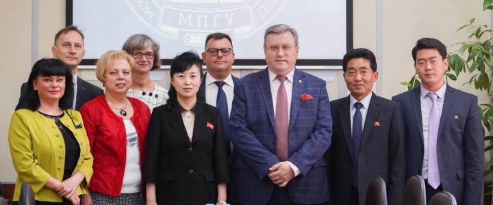 Визит делегации Верховного Народного Собрания КНДР