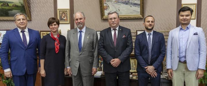 МПГУ посетил посол Аргентины в России