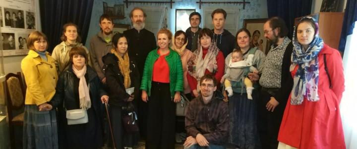 Музей С.И.Фуделя при Покровском филиале МПГУ посетила группа музыкантов,исполнителей классической музыки из Германии и Японии