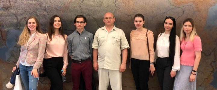 Экскурсия студентов Института социально-гуманитарного образования МПГУ в Государственную Думу России