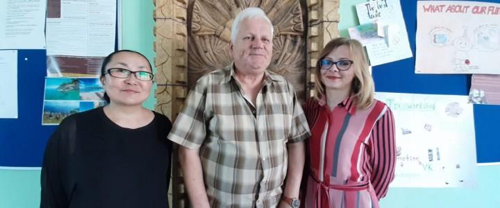 Сотрудничество с польскими преподавателями успешно продолжается