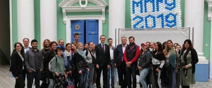 Студенты и преподаватели РГГУ – в МПГУ