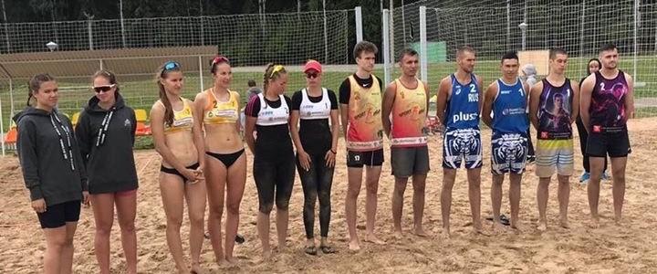 Серебро в финале Всероссийских соревнований по пляжному волейболу