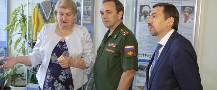 Подписан договор о сотрудничестве между Ставропольским филиалом МПГУ и Ставропольским президентским кадетским училищем