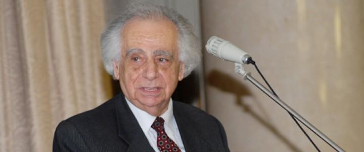 Почетному профессору МПГУ Марку Яковлевичу Блоху – 95 лет!