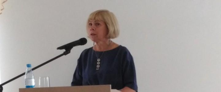 Профессор МПГУ Г.В. Аксенова на научно-теоретической конференции «Семья – малая церковь»