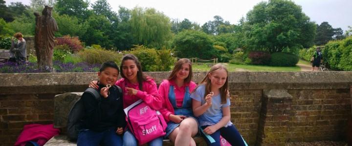 Студентка Института международного образования прошла стажировку в Англии