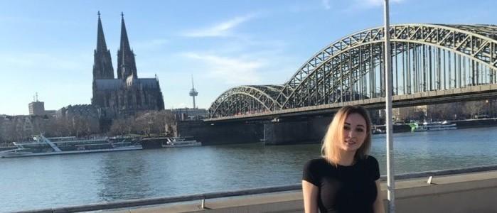 Студентка Института международного образования приняла участие в программе академического обмена студентов с Кёльнским университетом