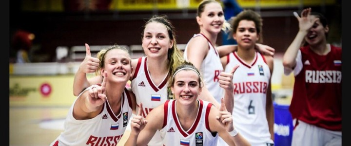 Студентка ИФКСиЗ Ольга Столяр – серебряный призёр Первенства Европы по баскетболу