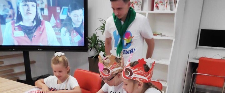 YO-вожатые приняли участие в праздновании 8-летия МФЦ