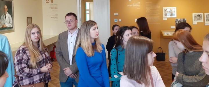 Студенты МПГУ на экскурсии «Жизнь и судьба московского дома»