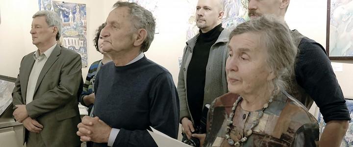Выставка картин в галерее Minima