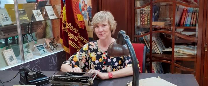 Преподаватели и выпускники филфака МПГУ на ММКВЯ