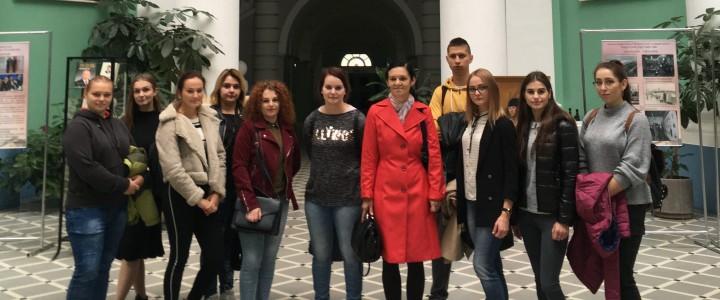 Студенты из Жешувского университета знакомятся с МПГУ