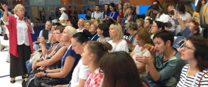 «Секреты голоса»: мастер-классы профессора О.С. Орловой на Международном форуме «Город образования»