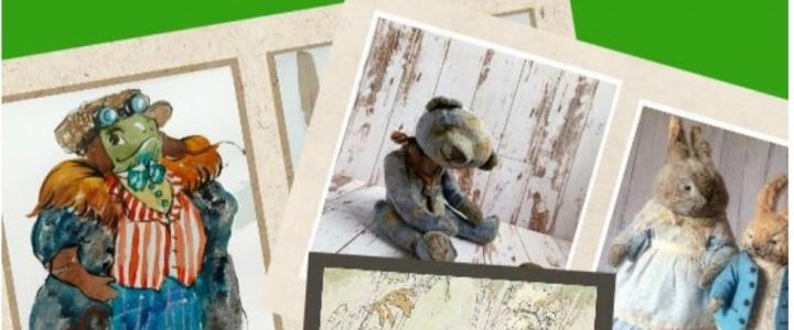 Студентка 1 курса магистратуры ХГФ ИИИ МПГУ Юлия Николаева представляет свои работы на выставке в подмосковном Реутове