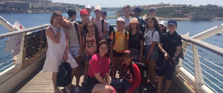 Студентка ИМО приняла участие в языковой стажировке на Мальте