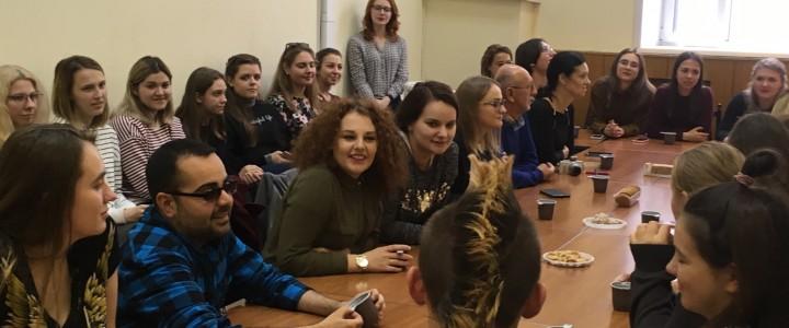 Встреча с польскими студентами в Институте филологии
