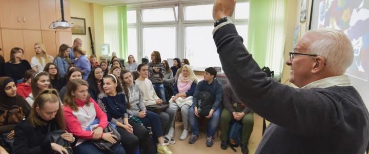 """Встреча с президентом Ассоциации """"Французский без границ"""" Бенжаменом Бекнером"""