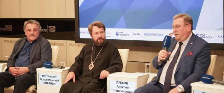 Ректор МПГУ выступил на круглом столе «Теология в системе образования: путь к формированию личности» в МИА «Россия сегодня»