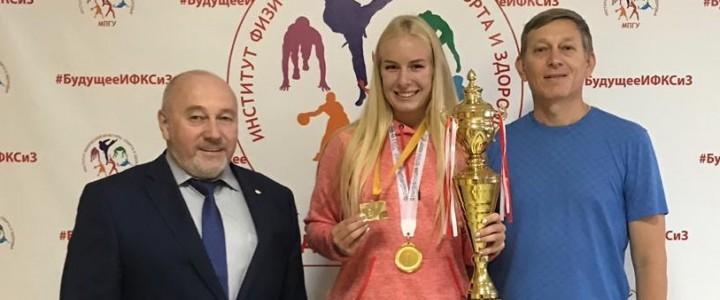 Первое европейское золото Елизаветы Терентьевой