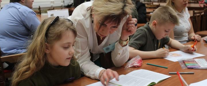 Поздравление Алфимовой Ирине Ивановне с 40-летием трудовой деятельности от коллектива Библиотеки МПГУ