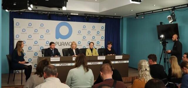 Директор ИЖКМ Т.Н. Владимирова выступила на пресс-конференции в РИАМО